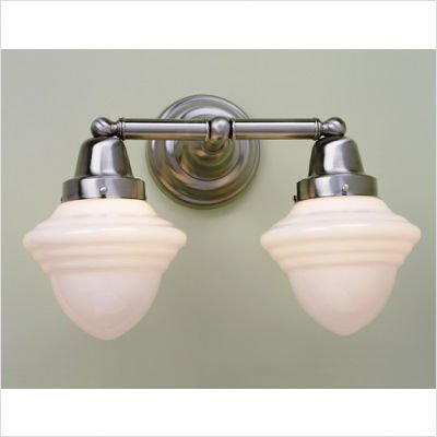 Bradford Bathroom Vanity Light (Bradford Schoolhouse Two Light Bath Vanity)