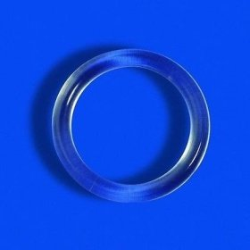 Ringe - 100 Stück im Beutel Transparent 8 - 13 mm