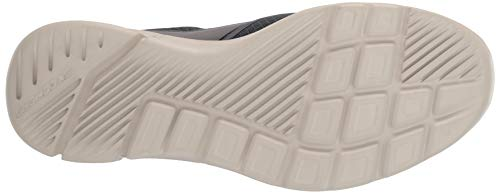 Skechers EQUALIZER 3.0, Men's Slip On Trainers, Grey (Charcoal Mesh/Pu/Trim Charcoal), 10  (45 EU)