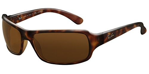 Ray-Ban RB4075 - HAVANA Frame CRYSTAL BROWN POLARIZED Lenses 61mm Polarized