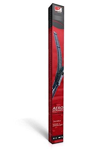 Juego de escobillas limpiaparabrisas delanteras sin marco, planas, HQ Automotive - ADF61-221 Twin Box: Amazon.es: Coche y moto