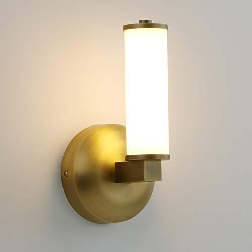 Permo Modern Bathroom Vanity Light Fixtures 11-Watt 3000K Warm White LED Wall Sconce with Diameter 2.1