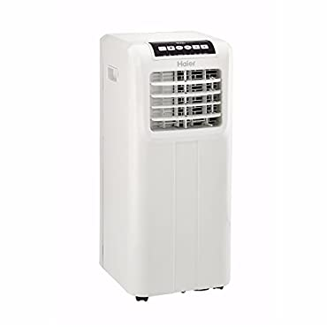 Haier Portable 10,000 BTU AC Air Conditioner Unit with Remote, White | HPP10XCT