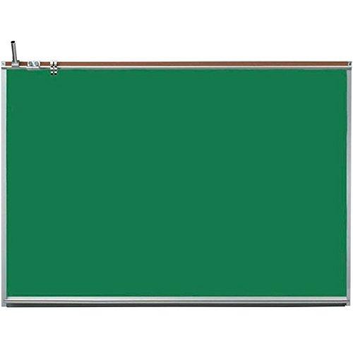 Aarco 120A-34CG Professional Series 36'' x 48'' All Purpose Porcelain Enamel Green Chalkboard