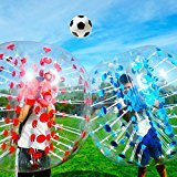 BenefitUSA BLUE Body Zorb Ball Bumper Inflatable Human Ball Soccer Bubble 1.5m (4.92ft) New
