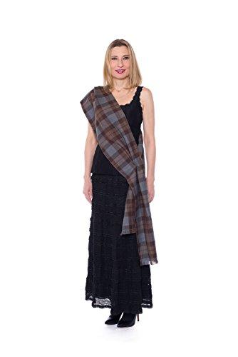 OUTLANDER Sash Authentic Premium Wool Tartan (Celtic Woman Costume)