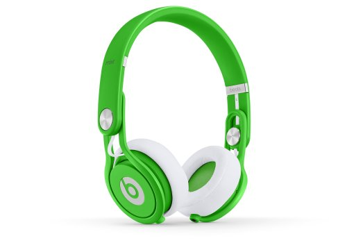 Beats Mixr Wired On-Ear Headphone - Neon Green (Discontinued by Manufacturer)