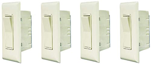 RV Designer S843, Self Contained Contemporary Touch Switch with Cover Plate, Speedwire, Ivory (4)