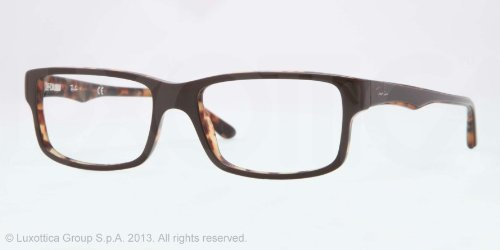 9661299debf RAY BAN Eyeglasses RX 5245 5220 Top Brown On Havana 54MM  Amazon.co.uk   Clothing