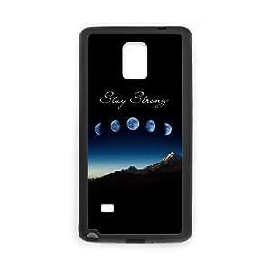 LSQDIY(R) Stay Strong Samsung Galaxy Note 4 Phone Case, Cheap Samsung Galaxy Note 4 Hard Back Case Stay Strong