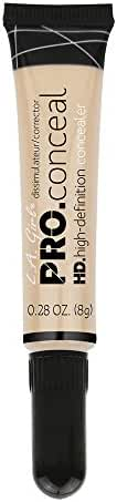 L.A. Girl Pro Conceal HD Concealer, Light Ivory, 0.28 Ounce