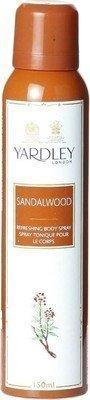 - Yardley Sandalwood Deodorant Spray - For Women(150 Ml)
