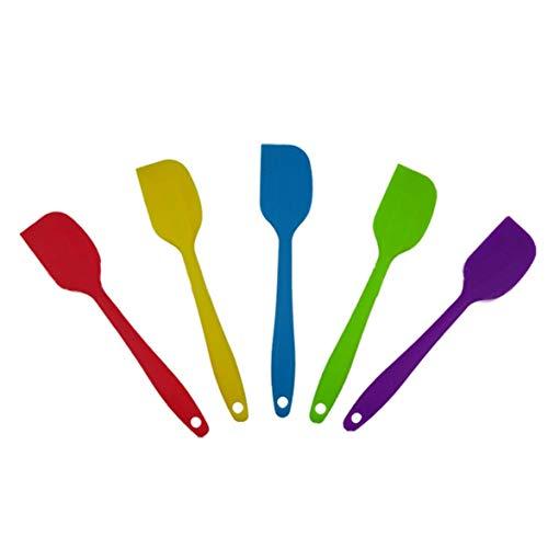 Heat-Resistant Silicone Spatulas Cake Cream Butter Scraper Baking Scraper Tool Kitchen Cooking Gadget and Bakeware Tool