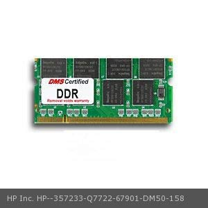DMS Compatible/Replacement for HP Inc. Q7722-67901 Color Laserjet 4730xs MFP 256MB DMS Certified Memory 200 Pin DDR PC2100 266MHz 32x64 CL 2.5 SODIMM (32X8) - DMS
