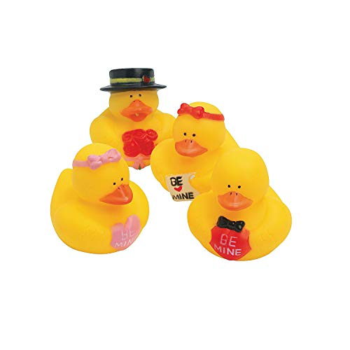 Fun Express Valentine Rubber Ducks