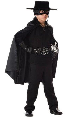 InCharacter Boys Zorro Kids Costume As Shown - Large (Zorro Girl Costume)