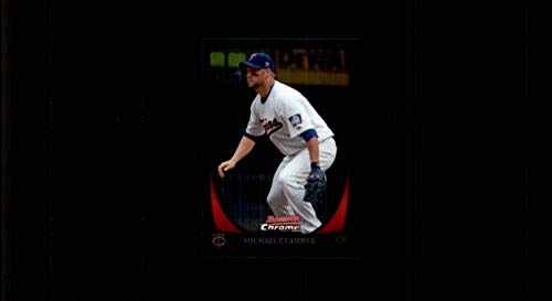 2011 Bowman Chrome #132 Michael Cuddyer MINNESOTA TWINS