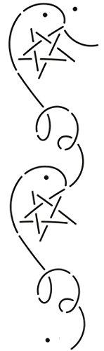 Quilting Creations Millennium Star with Corner Quilt Stencil