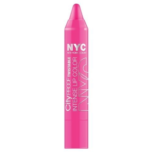 (3 Pack) NYC City Proof Twistable Intense Lip Color - Fulton St Fuchsia by - Fulton Ny Stores