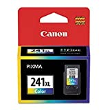 (3 Pack Value Bundle) CNM5208B001 5208B001 (CL-241XL) Ink, Color