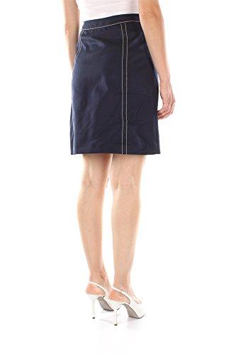 P152EIBLUAVORIO Prada Faldas Mujer Algodón Azul Azul