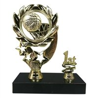 Express Medals 1st Place Sport Wreath Basketball Trophy Basketball Wreath Award