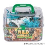 Adventure Planet Wild Animals Set with Carrying Case, ()