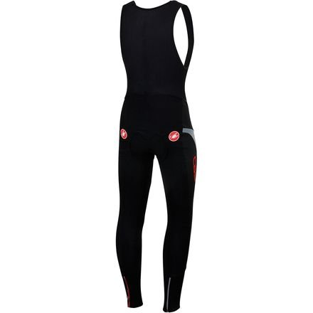 Castelli Polare 2 Bib Tight - Men's Black/Reflex, M by Castelli (Image #1)