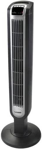 Lasko 2511 Tower Fan, Three Quiet Speeds, 36-Inch, Black