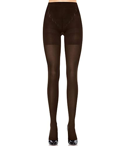 Red Hot by Spanx Womens Red Hot Label Tights Shaping Tights, 1, Brown (Red Hot Label By Spanx High Waisted Leggings)