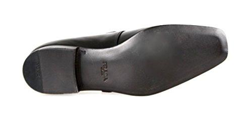 Prada Men's 2OA011 Black Leather Business Shoes EU 9.5 (43,5) / US 10.5 by Prada (Image #7)'