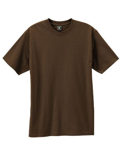 By Hanes Beefy-T Adult Short-Sleeve T-Shirt_Dark Chocolate_3XL
