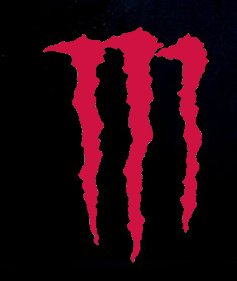 Monster Energy Racing Logo Decal Vinyl Sticker|Cars Trucks Vans Walls Laptop| RED |5.5 x 3.75 in|CCI1218