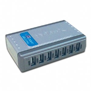 D-Link High Speed USB 2.0 7-Port Hub