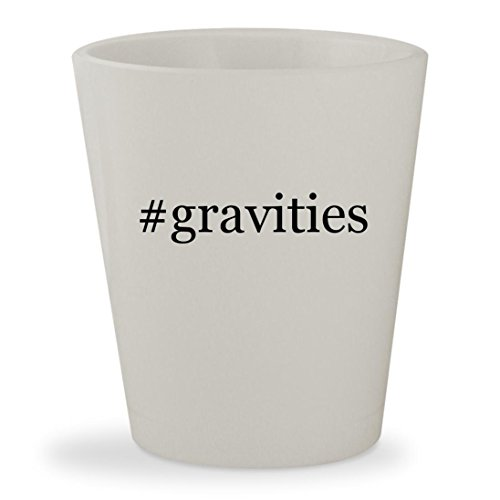 Price comparison product image #gravities - White Hashtag Ceramic 1.5oz Shot Glass