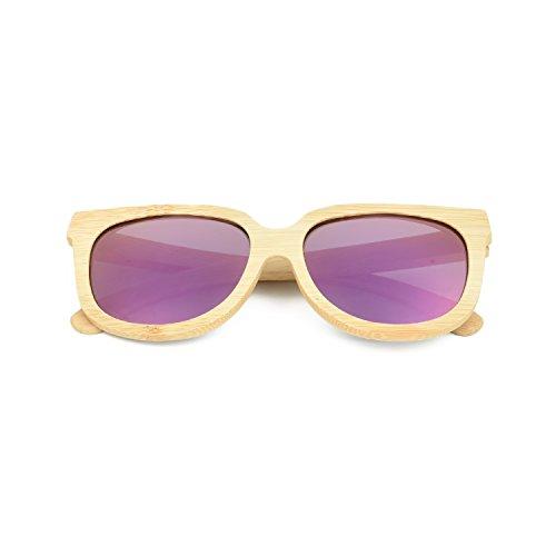Purple Homme VOBOOM Lunettes Mirrored de soleil BqwAwzI