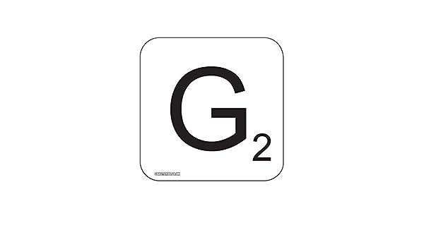 Coasteroo G Scrabble Letra – Imán para Nevera diseño de 57 mm x 57 mm – Acabado Brillante – Fun Palabra diseño de Juegos diseño: Amazon.es: Hogar