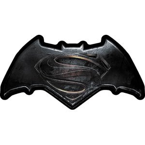 Batman vs Superman Official Logo, DAWN OF JUSTICE - Original Licensed Movie Artwork, 5.5