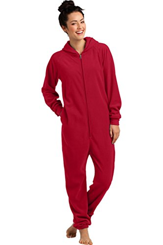 District Women's Fleece Lounger L New Red