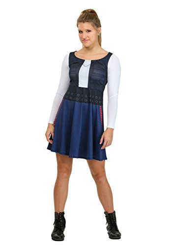 [Star Wars Han Solo Long-Sleeved Costume Dress (Small)] (Han And Leia Costumes)