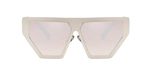 inspirées soleil Mercure polarisées rond cercle de du lunettes vintage métallique style Blanc en retro Lennon gSqtWw5H