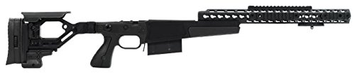 Accuracy International AX AICS Chassis REM 700 LA .300 WIN 16″ forend tube BLACK 26713BL