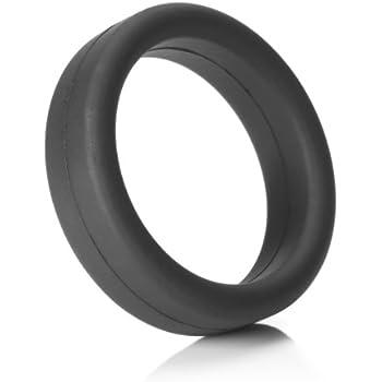 Tantus Super Soft C-Ring - Ultra-Premium Silicone Cock Ring - Black