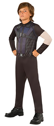 Avengers Hawkeye Costume (Rubie's Costume Captain America 3: Civil War Hawkeye Kids Value Costume,)