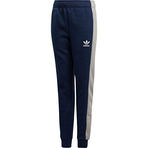 big Grey Adidas Kids Pants Collegiate Kids Kids little Originals white medium Heather Track Zigzag Large Navy Boy's OqO8Br