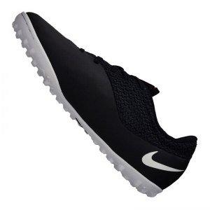 Nike Youth Mercurialx Pro Street Turf (BLACK/HOT..