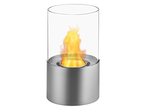 Ignis Ventless Bio Ethanol Fireplace Circum Stainless Steel