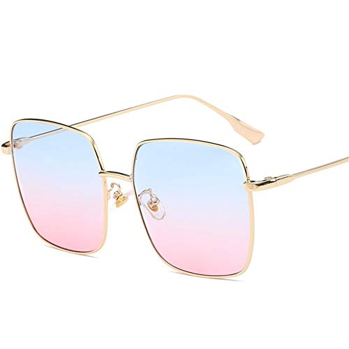 métal grand rétro de art à A carrées monture lunettes soleil en NIFG de Lunettes soleil 4XvH14Uq