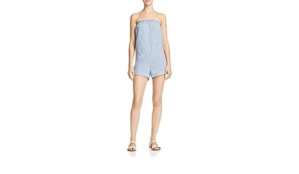 26edde11de9 Amazon.com  Bella Dahl Womens Strapless Casual Romper  Clothing
