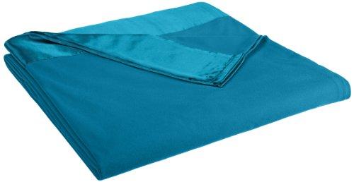 Shavel All Seasons Year Round Sheet Blanket with Satin Hem,